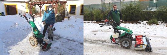 Vlevo Pavel Měska (květinová farma) a vpravo Vojtěch Tomašov (služby v zahradnictví), zdroj foto - Milan Jedlička