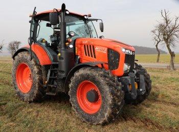 Nejvýkonnější traktory Kubota prezentuje řada M7, ve které nalezneme tři modely o výkonu 130, 150 a 170 koní s možností navýšení o dalších 20 koní. Zdroj foto - Milan Jedlička