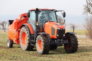 Traktory MGX jsou vyvíjeny a vyráběny v Japonsku – nápravy, převodovka a motor pochází z vlastní výroby. Zdroj foto - Milan Jedlička